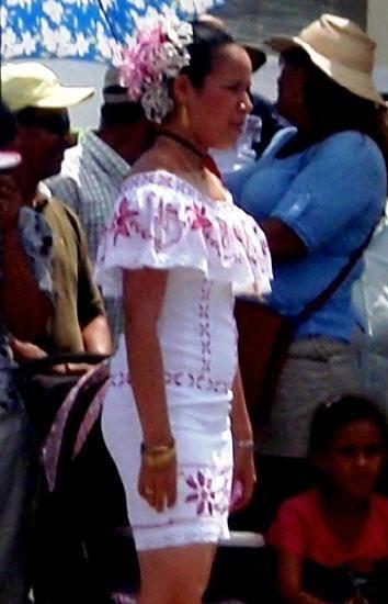 Vestidos para fiestas patrias de panama