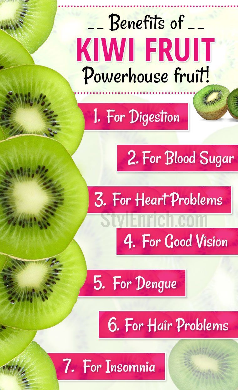 Benefits of Kiwi Fruit Nature's Storehouse of Good Health