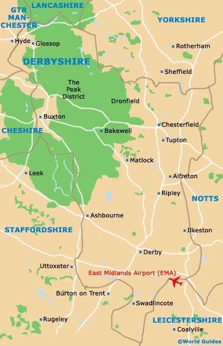 Map Of England Derbyshire.A Map Of Derbyshire In Central England Oh To Be In England Iii