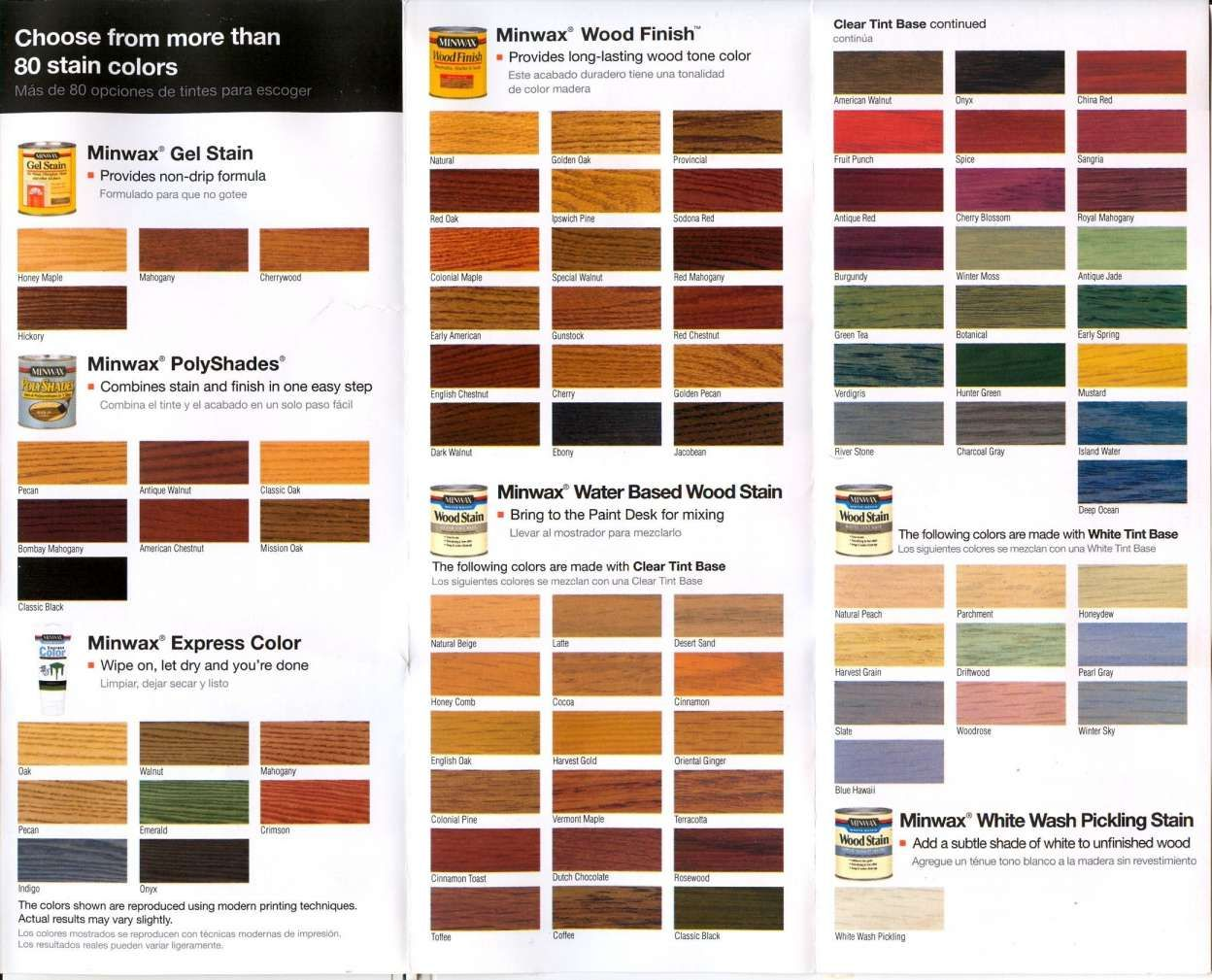 floor stain colors home depot