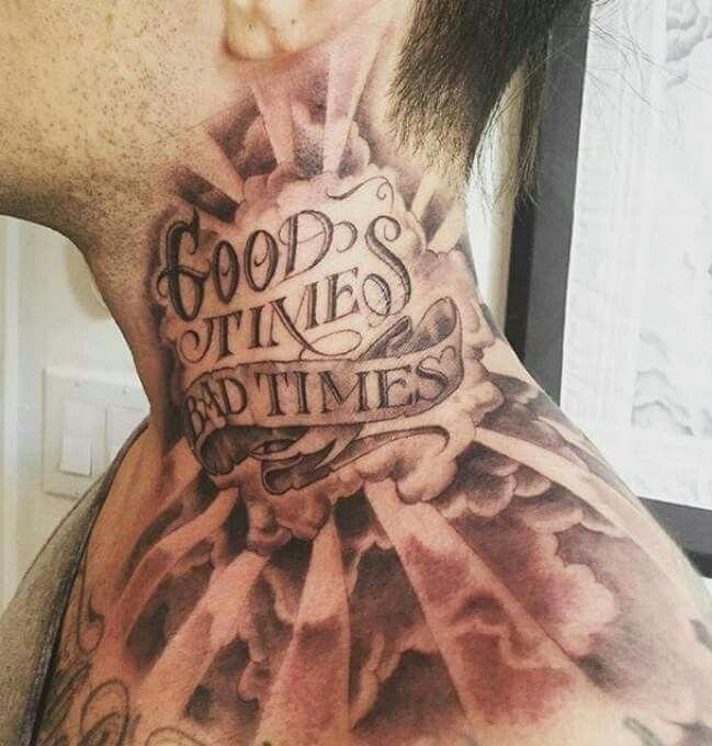 Wudey213 Neck Tattoo For Guys Torso Tattoos Neck Tattoo