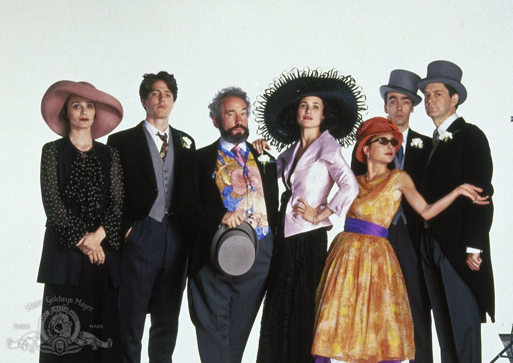 Four Weddings And A Funeral 20 Years On Richard Curtis Remembers