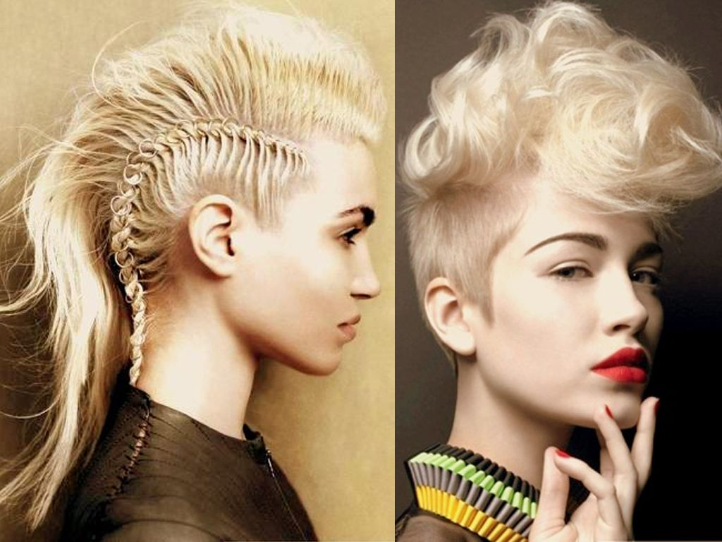 Braided mohawk hairstyles grils hairstyles pinterest black