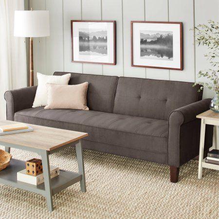 10 Spring Street Ashton Microfiber Sofa Bed Microfiber Sofa Inexpensive Furniture Sofa