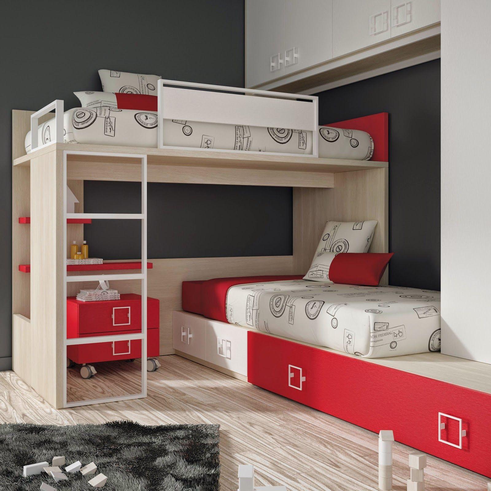 Blocks de Muebles Ros: Es la última tendencia en mobiliario juvenil.