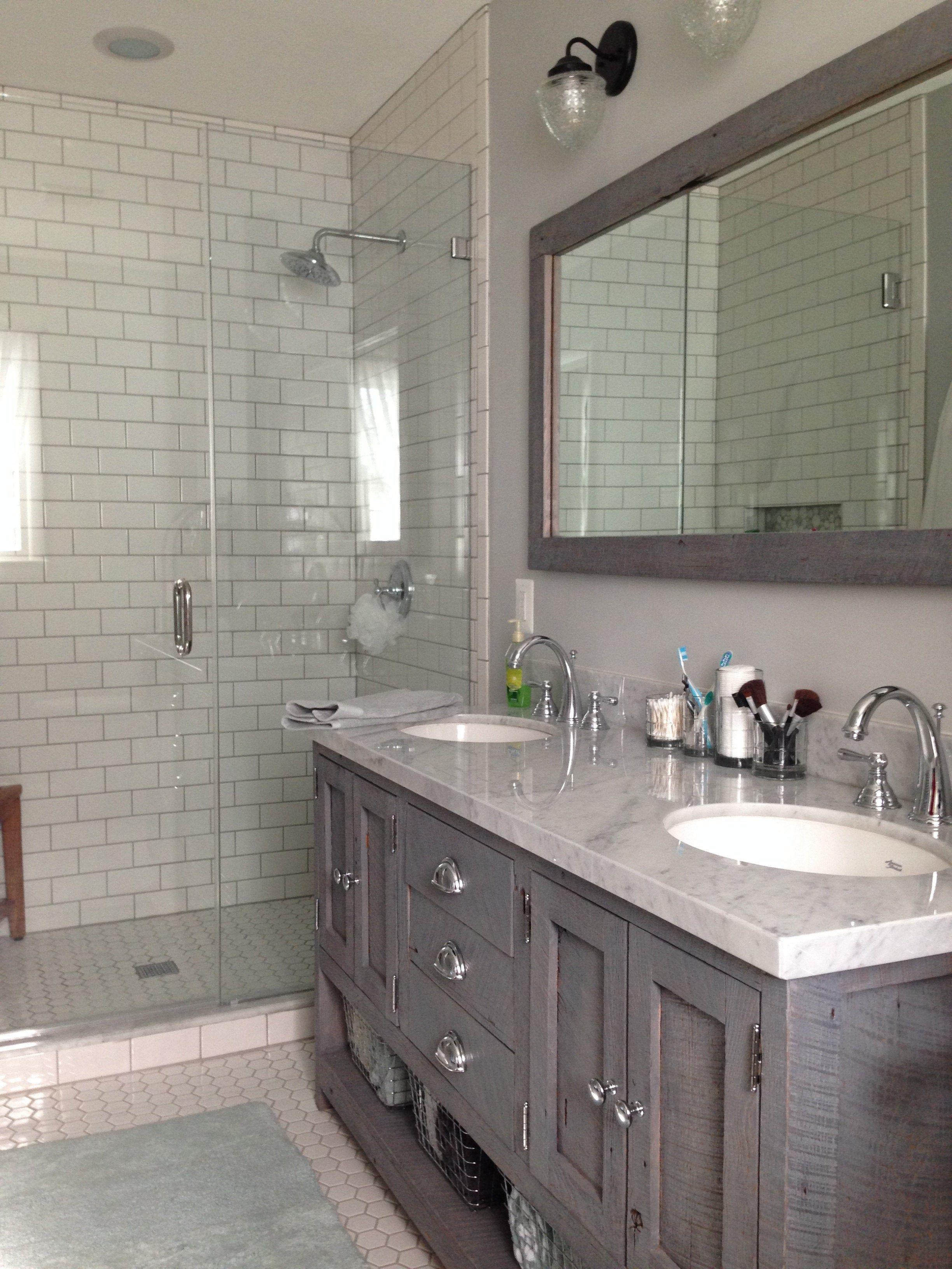 Island Falls Glass Wall Sconce Fixture Small Bathroom Makeover Bathroom Remodel Shower Bathroom Interior Design
