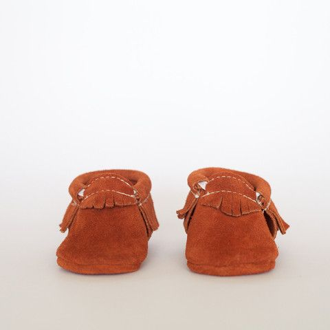 Red Rock Suede - Moccasin