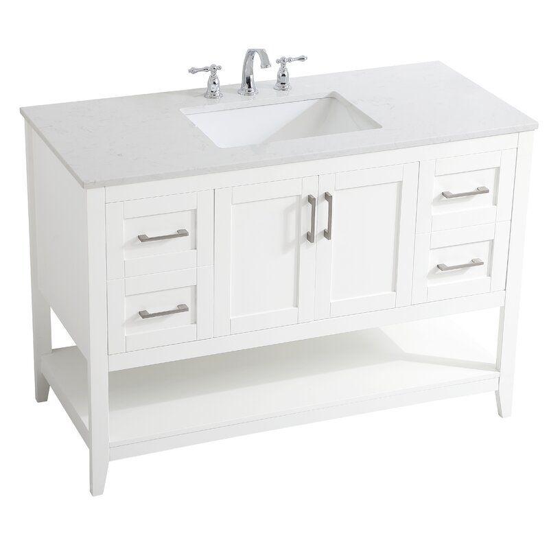 Highland Dunes Gooden 48 Single Bathroom Vanity Set Wayfair