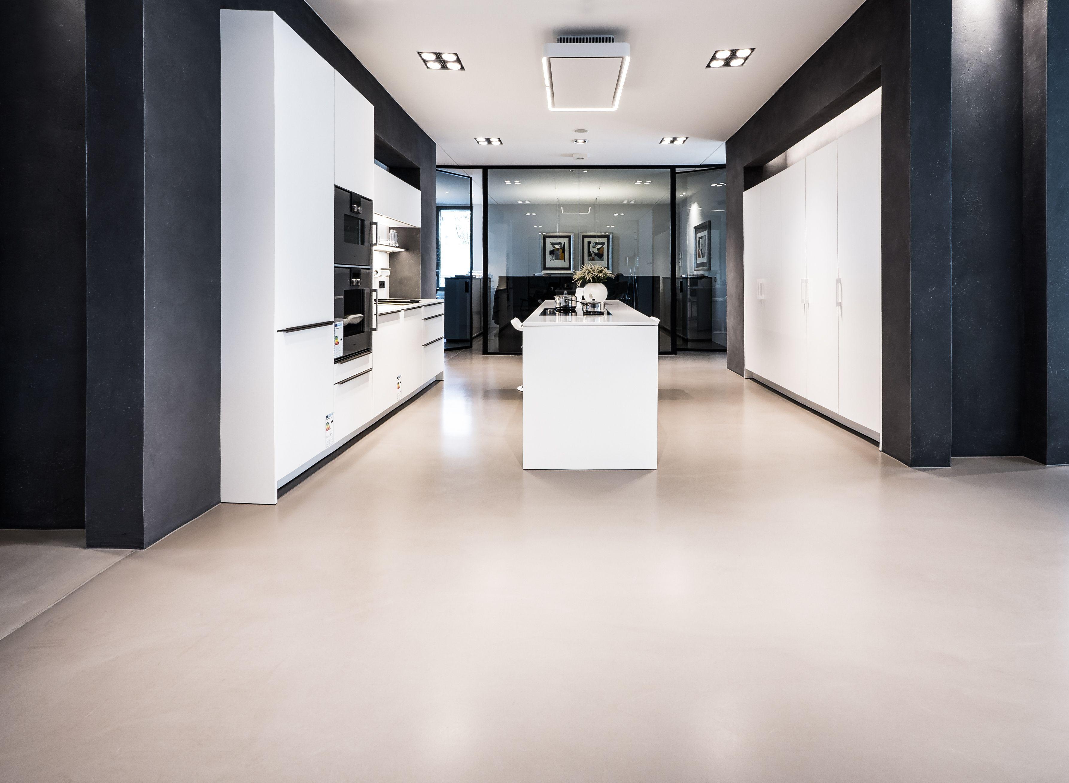 Remarkable Küche Boden Best Choice Of Creafloor® Design Spachtel Küche Sichtestrich Designboden Beton