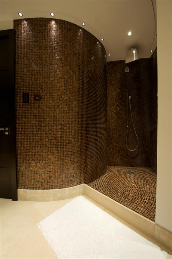 Luxury Bathrooms Tauranga walk in shower area with led lighting the bisazza new cipro