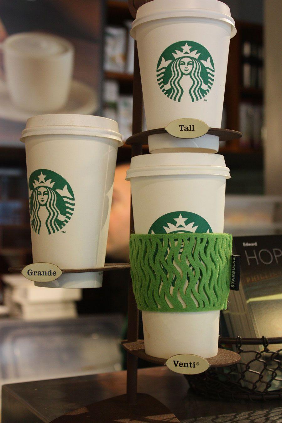 Manga reciclable para los vasos de caf en starbucks su for Vater ecologico