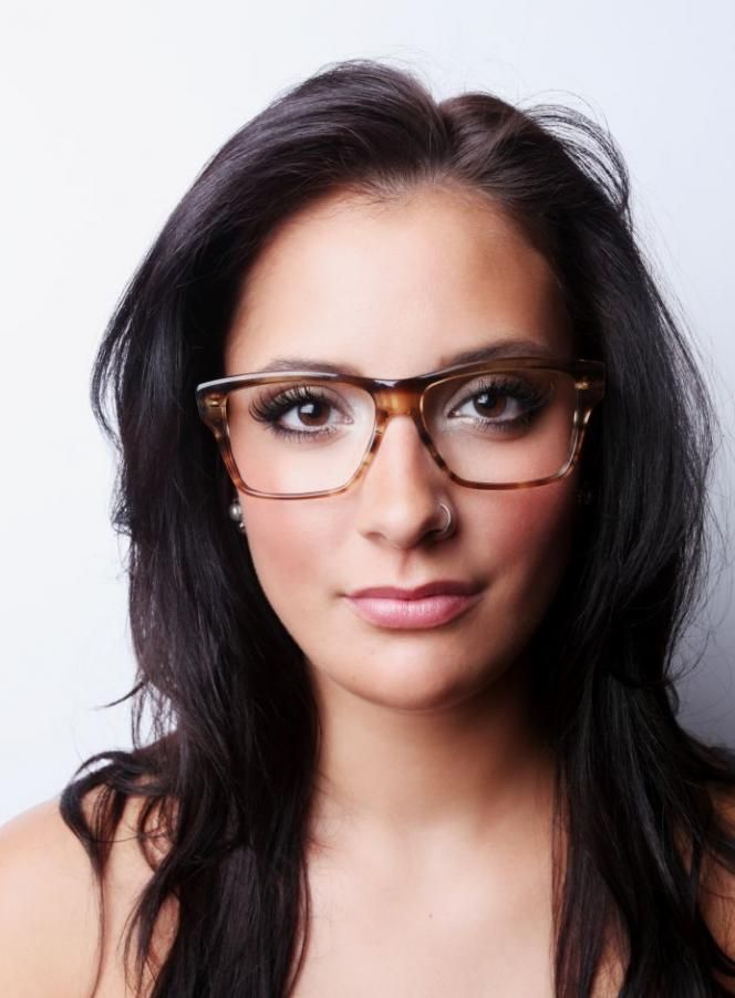 "7acb794fe2 Zooey Deschanel glasses   ""New Girl"" glasses Vintage frames"