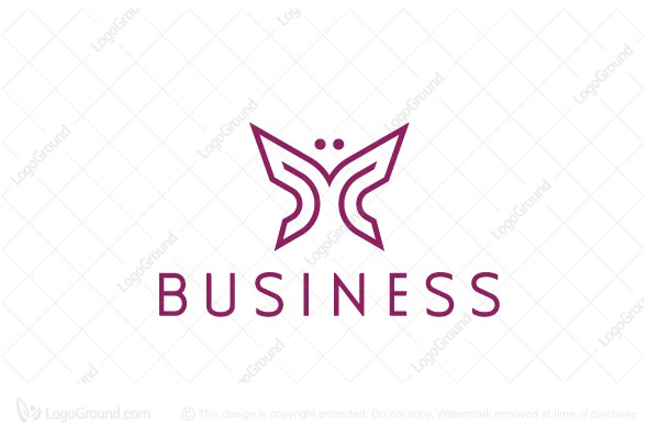 Exclusive Logo 204688 Butterfly Logo Geometrical Logo In 2020