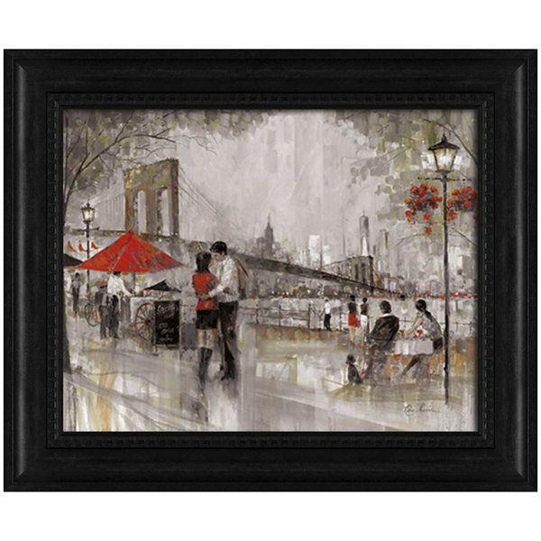 New York Romance Framed Wall Art