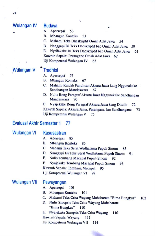 Kunci Jawaban Tantri Basa Kelas 6 Gladhen Wulangan Berbagi File Guru Kunci Berkelas Budaya