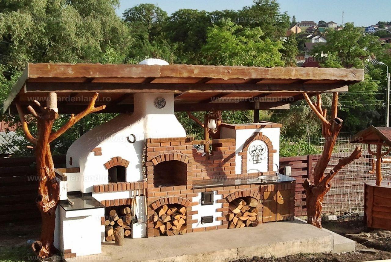 Gardenland acoperis gratar div 031 skyrim tavern k che outdoor k che garten - Ofen im wintergarten ...