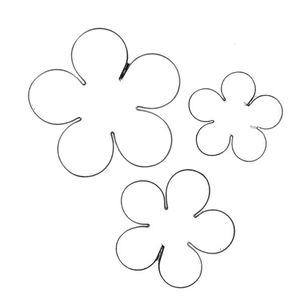 crystal flowers blossom cutters set by gsa crystal flowers