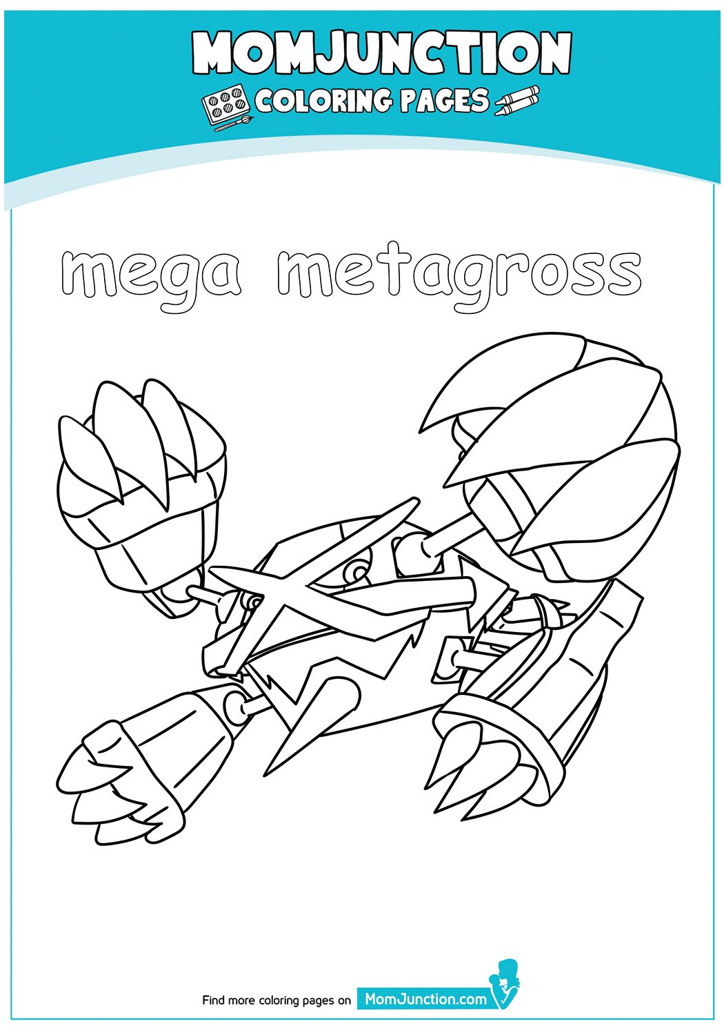 Pokemon Go Logo Coloring Page | Coloring pages, Color, Go logo