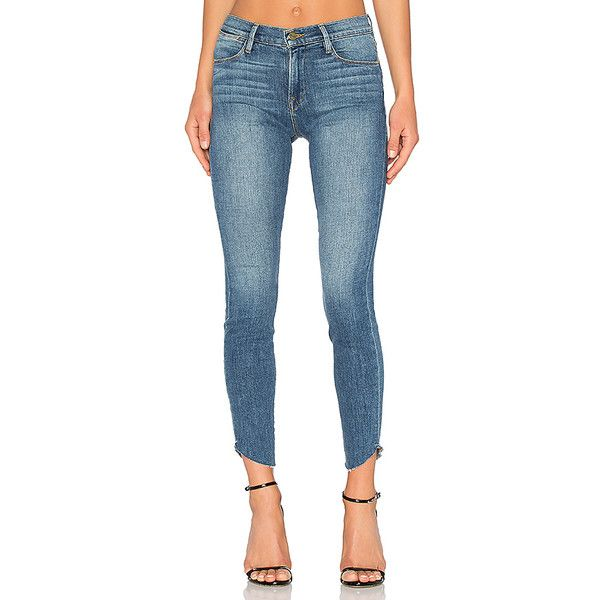 raw edge skinny jeans - Blue Frame Denim zEoJKmsDy