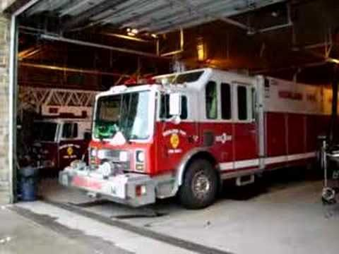 Richland Township FD - Rescue 3 responding from station