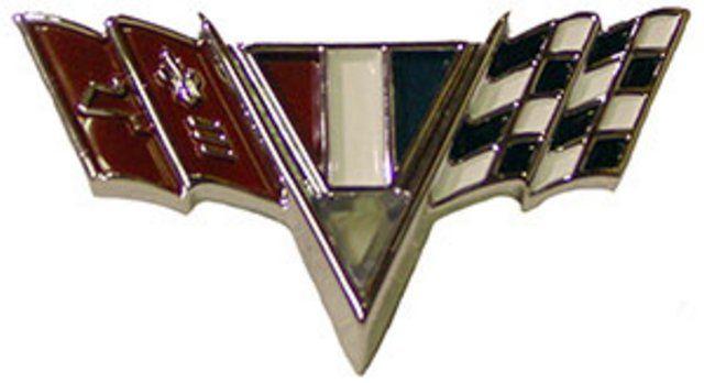 Emblem 67 Cross Flags Fender Repro Cross Flag Parts And