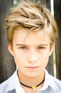 15 year old blonde boy