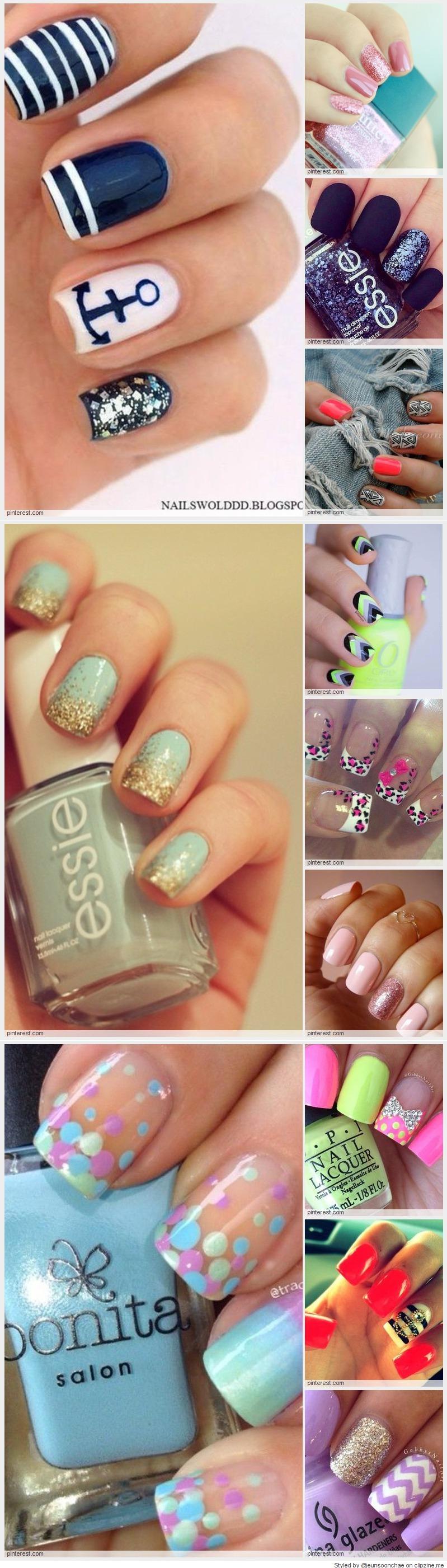 Nail art nails pinterest makeup mani pedi and nail nail