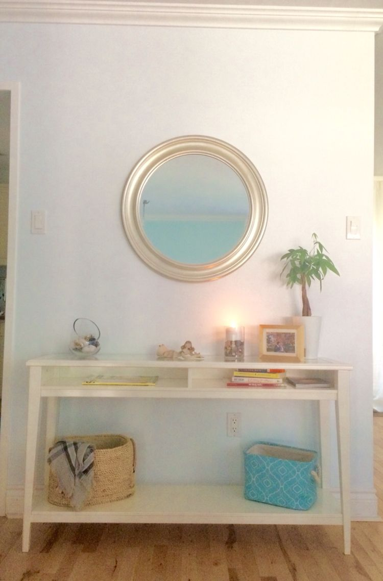 Liatorp Ikea Console Decoration Ideas For Your Entry Way