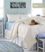 Primaloft Down Alternative Comforter From L L Bean Puppy Not