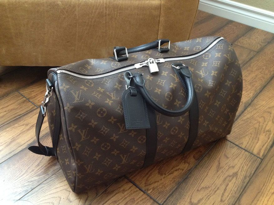 b879c3816b6a Keepall 45 Macassar - - New Pics to Share  ) - PurseForum