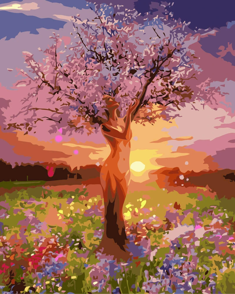 Tree Of Life Diy Painting By Numbers Painting Cool Paintings Diy Painting