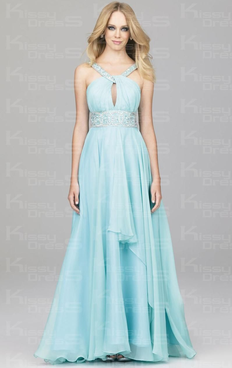 Long prom dress for short girl - http://www.cstylejeans.com/long ...
