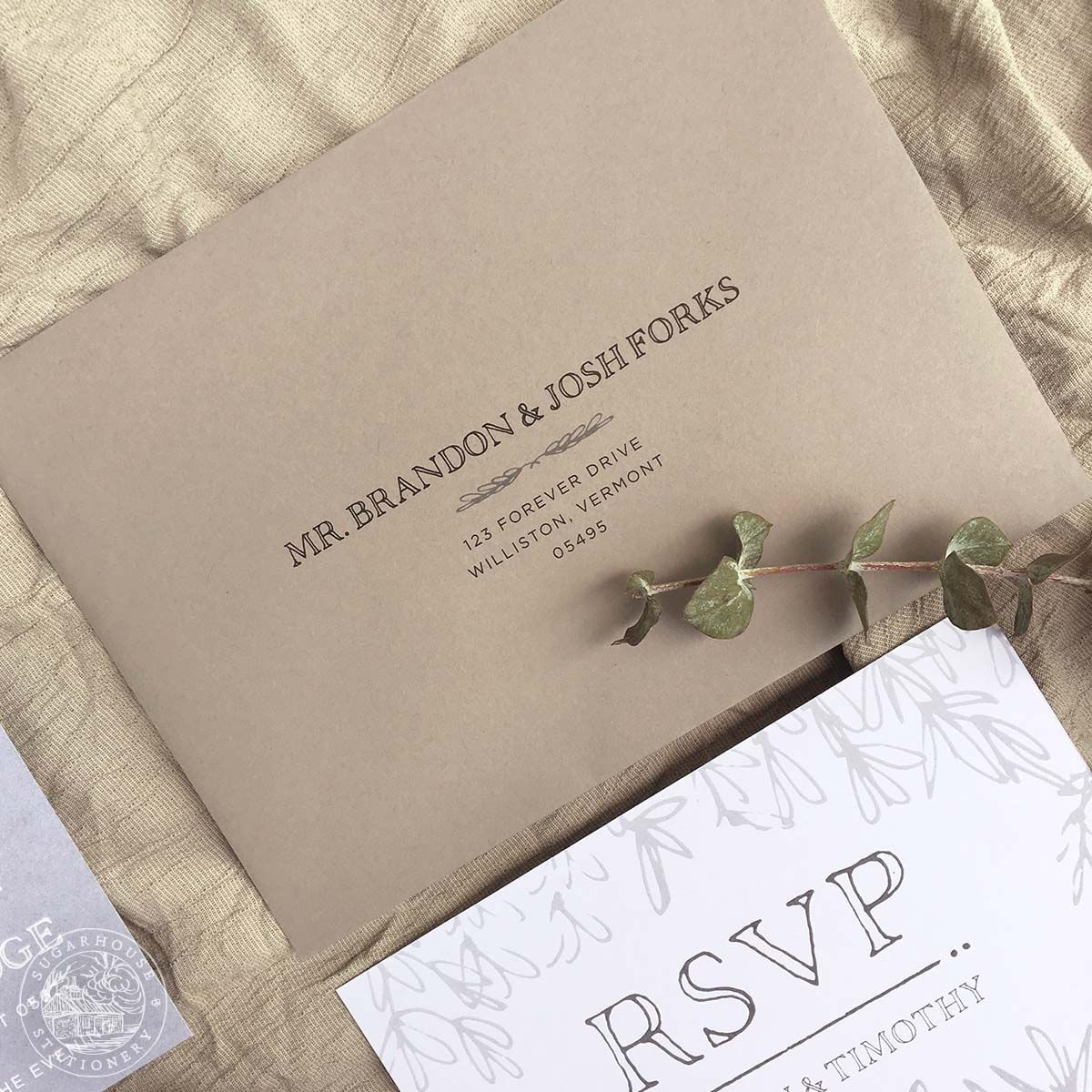 Mansfield grade a invitation suite stationery designs inspired by wedding invitation design company specializing in invitation suites save the dates day of pieces and custom stationery design services stopboris Images