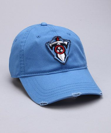 3a88ab41f9b616 Take a look at this Blue Tennessee Titans Distressed Baseball Cap by NFL on  #zulily today!