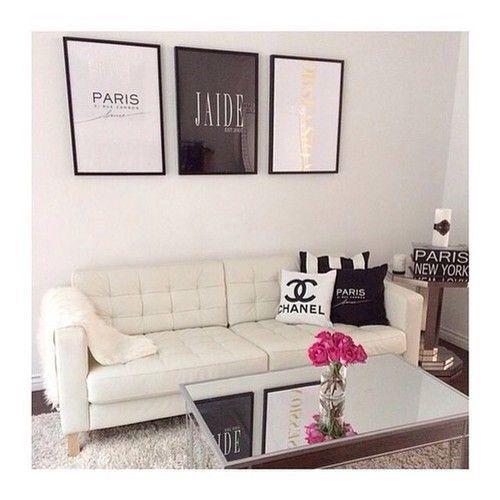 25 Swoon Worthy Glam Living Room Decor Ideas: ᑭIᑎTEᖇEᔕT: ᗷᖇIᗩᑎᑎᗩO1999♡☼