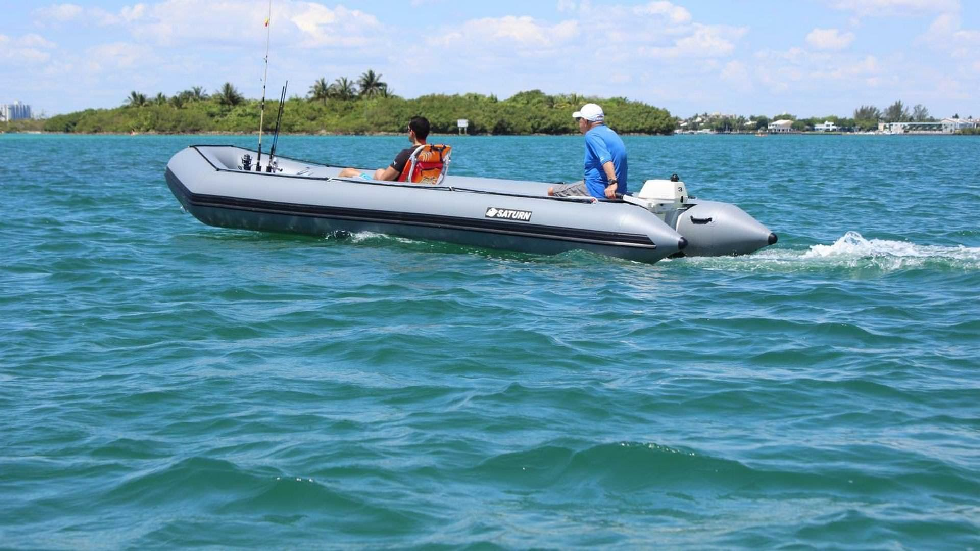 Saturn 20 39 Sd600 Inflatable Boat With 3hp Outboard Motor