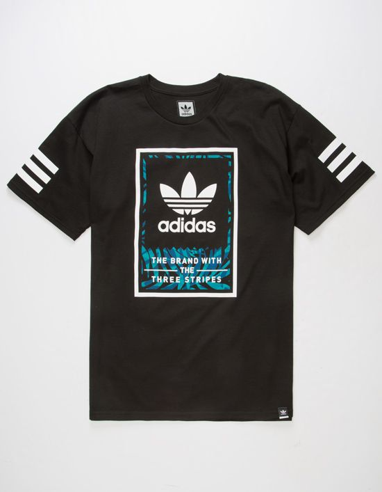 7599d945ee Adidas Classic tee. Adidas logo graphics screened on front and back ...
