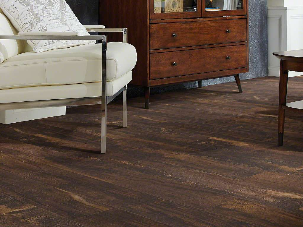 Shaw floors vinyl floorte premio plank log cabins cabin for Floorte flooring