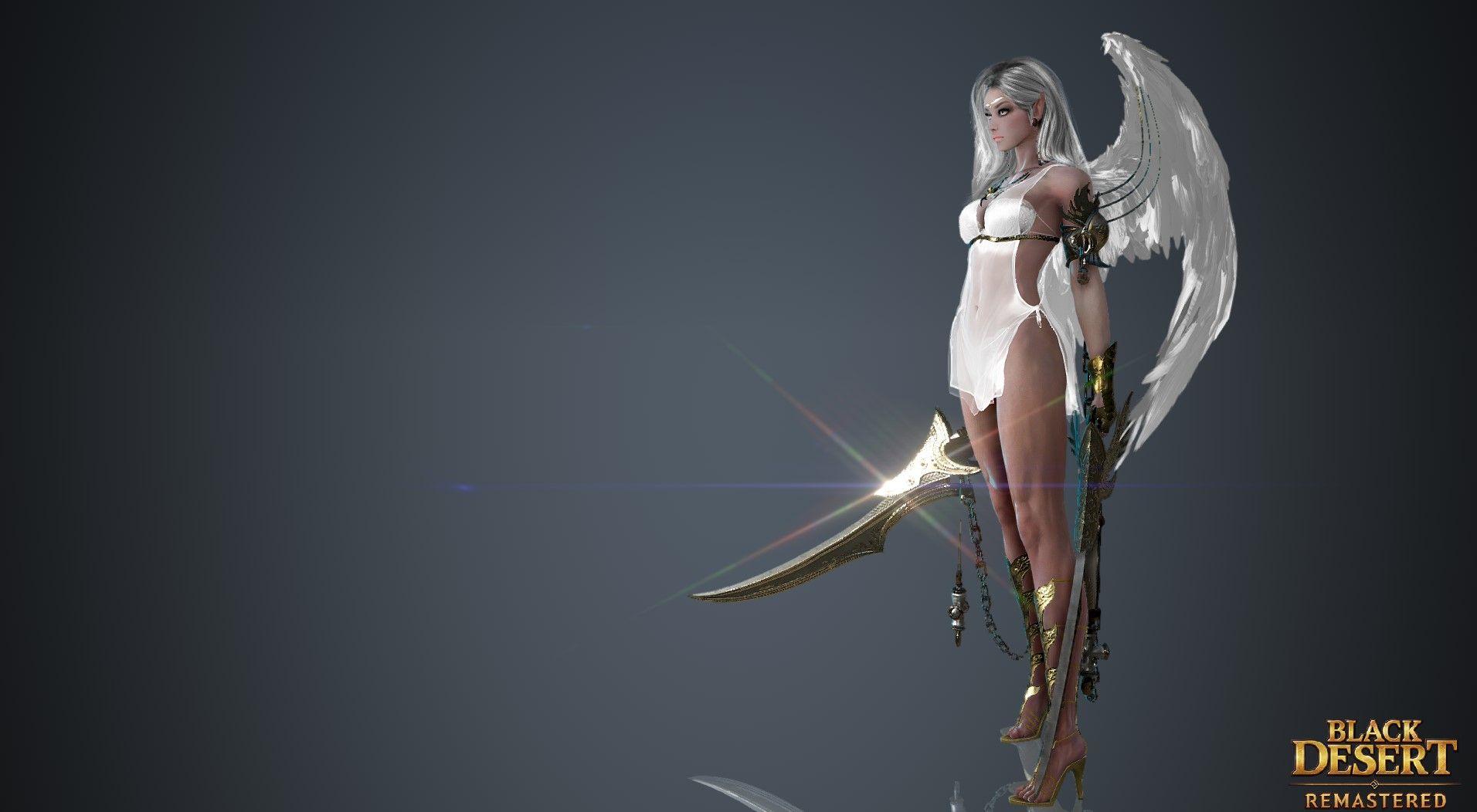 Black Desert Remastered Lahn Black Princess Zelda Mmo