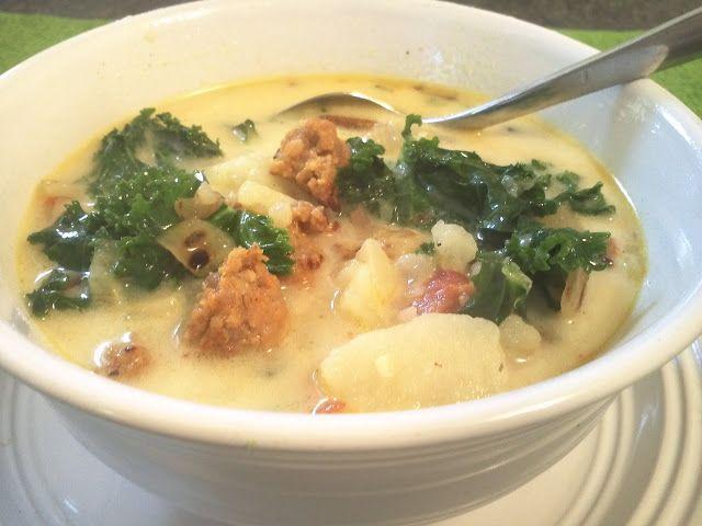 Olive garden sausage copycat soup real food recipes - Olive garden wedding soup recipe ...