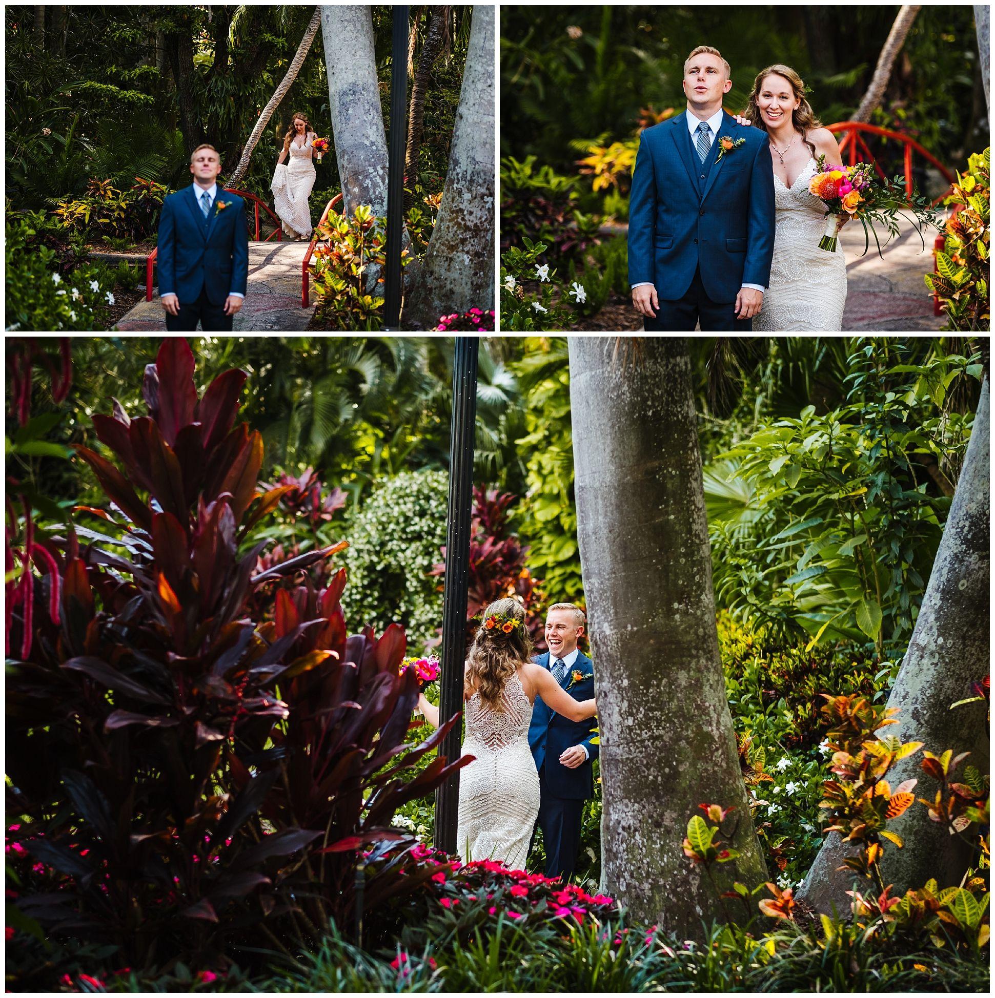 Bright Sunken Gardens Wedding Sunken garden, Wedding