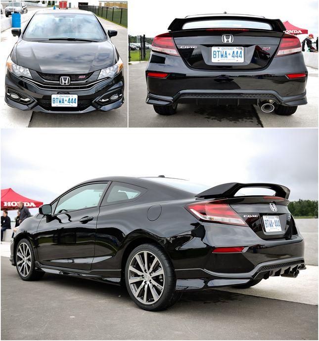 Let S Go Racing Honda Civic Si Coupe Honda Civic Accessories Honda Civic Si