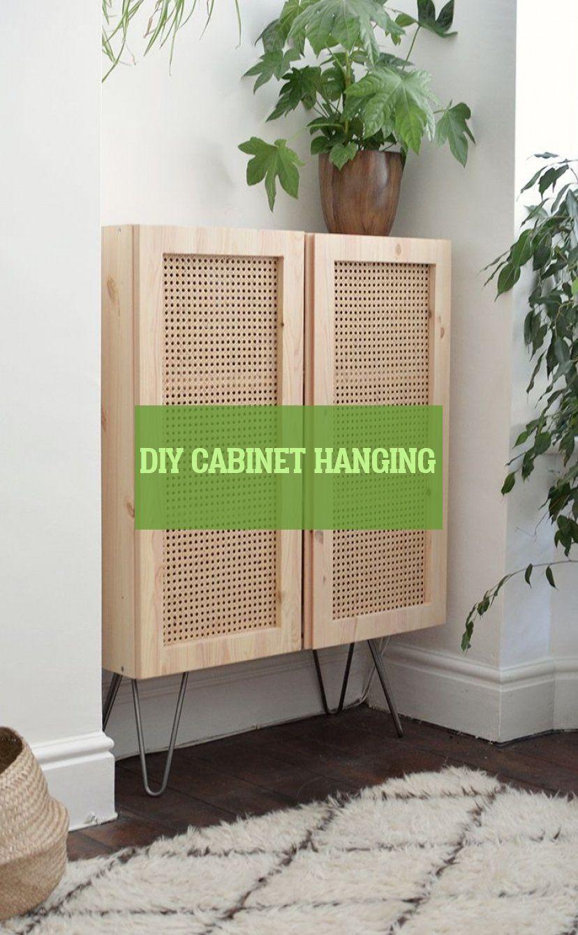 diy cabinet hanging