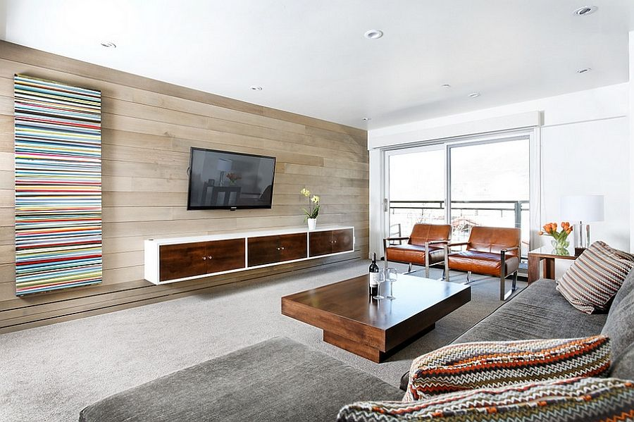 Contemporary Aspen Condo Gets A Chic Makeover  Aspen Living Room Captivating Living Room Make Over 2018