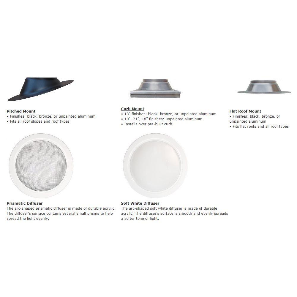 Natural Light Tubular Skylight Full Kit From Buymbs Com In 2021 Tubular Skylights Skylight Natural Light