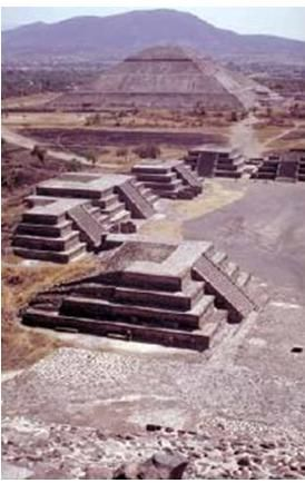 Pyramid Of The Sun And Moon Teotihuacan Mexico City Teotihuacan Places To See Great Pyramid Of Giza