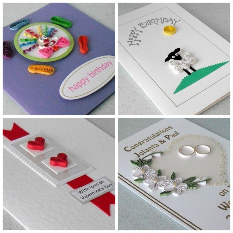 Tarjetas creativas hechas con la técnica de filigrana Aprende a - tarjetas creativas