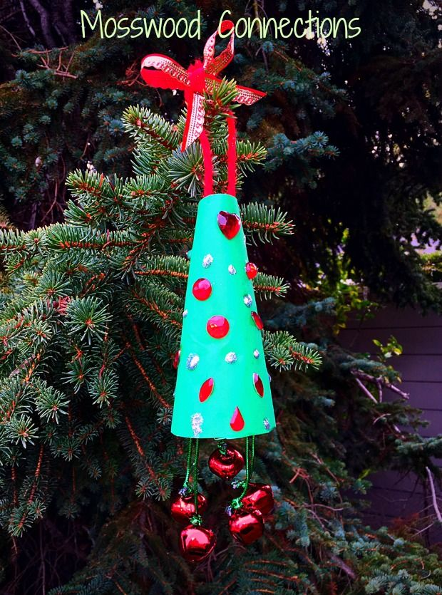 Jingle Bell Ornament Perfect For Your Christmas Tree Mosswood Christmas Bells Diy Christmas Ornaments Christmas Tree Ornaments