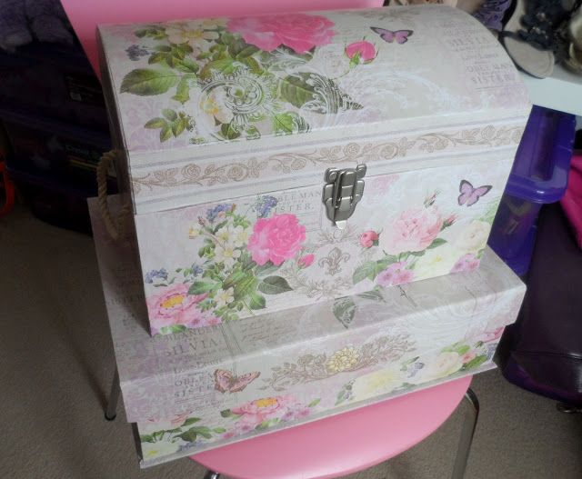 Flutter And Sparkle Pretty New Storage Boxes From Tk Maxx Reuse