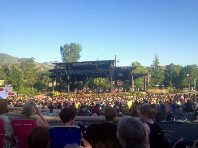 Flat Bob Visits The Beautiful Red Butte Garden Concert Series In Salt Lake  City! Www